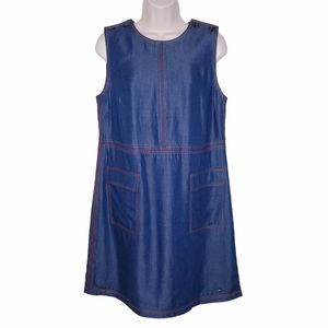 Ted Baker London Odie Chambray Shift Dress